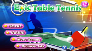 Epic Table Tennis Free - Virtual Ping Pong screenshot 1