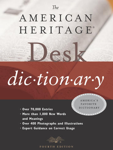 American Heritage® Desk Dictionary — Fourth Edition screenshot 6
