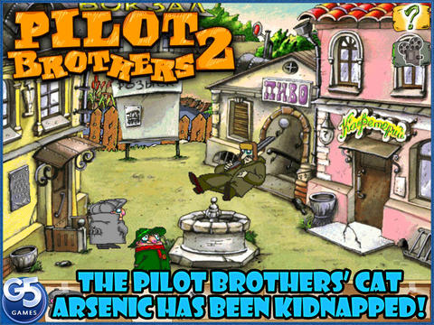 Pilot Brothers 2 for iPad screenshot 1