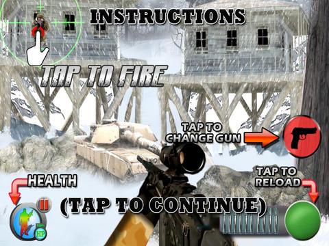 Arctic Assault (17+) : Sniper vs Sniper screenshot 8