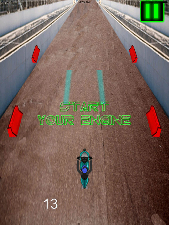 A Fast Motorcycle Racing Fury - A Lighted Track screenshot 8