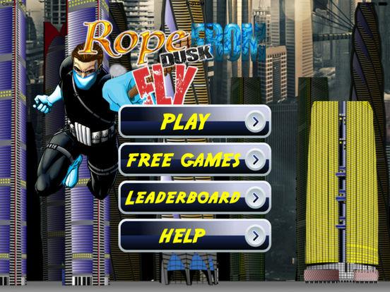 A Rope From Dusk Fly PRO - Thief Vs Hero screenshot 6