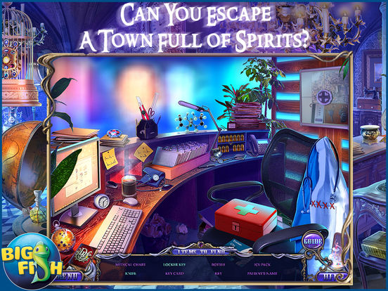 Dark Dimensions: Shadow Pirouette HD - A Scary Hidden Object Game screenshot 2