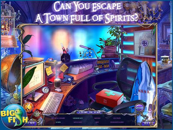 Dark Dimensions: Shadow Pirouette HD - A Scary Hidden Object Game screenshot 2