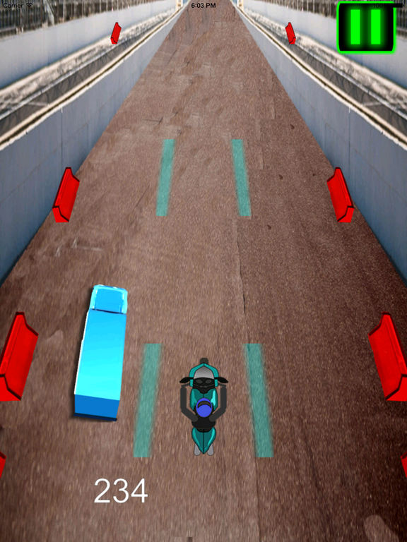 A Fast Motorcycle Racing Fury Pro - A Lighted Track screenshot 10