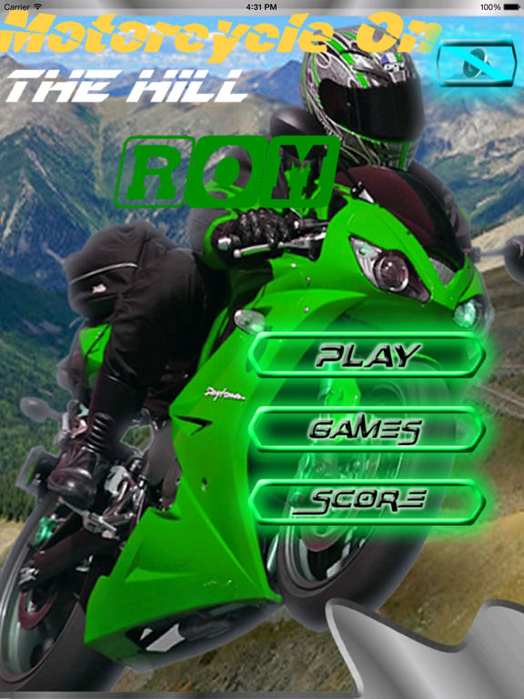 Motorcycle On The Hill Rom - Extreme Game screenshot 6