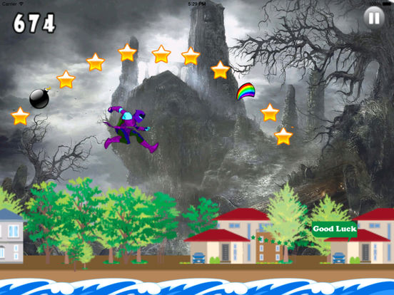 A Lost Girl Jumping Castles PRO - Game Big screenshot 8