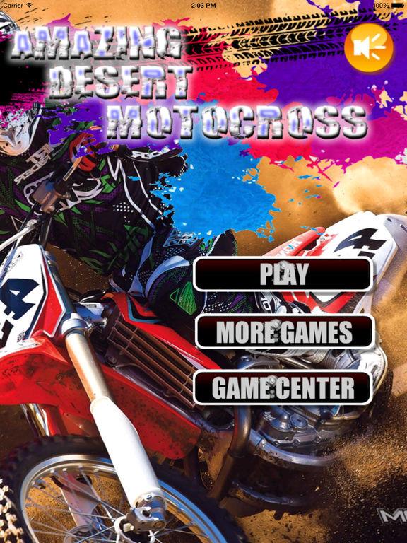Amazing Desert Motocross - Baron Bike Racing screenshot 6
