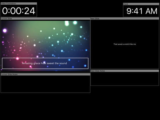 ProPresenter Stage screenshot 6