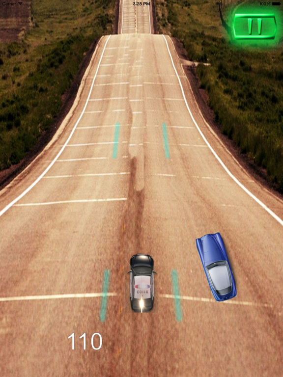 A Driving Fast Police - Racing Hovercar Game screenshot 7