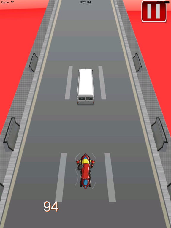 Big Fast Race Child - Crazy Game Road Bike screenshot 9