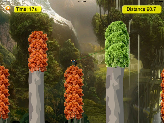 Cyber Fly Escape Rope Warrior Pro - Kingdom Secret Flying screenshot 7