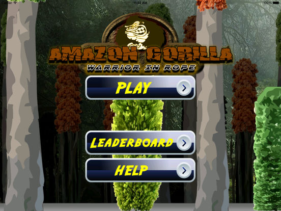 Amazon Gorilla Warrior In Rope - Amazing Jump and Fly Game screenshot 6