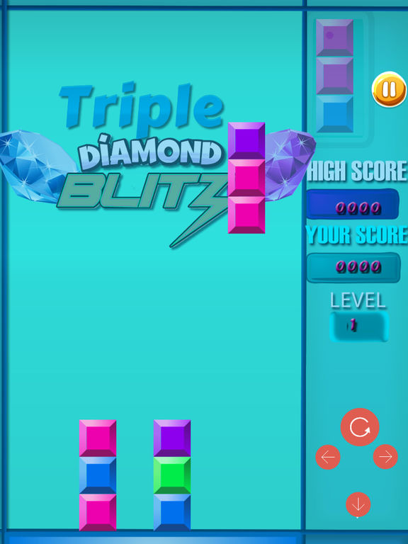 Triple Diamond Blitz PRO - Match 3 Puzzle screenshot 7