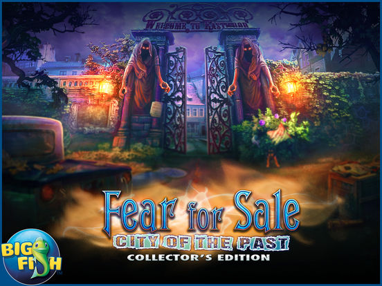 Fear for Sale: City of the Past HD - A Hidden Object Mystery (Full) screenshot 5