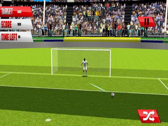 Real Football Penalty Flick : Hero-es Kicks Shots screenshot 4