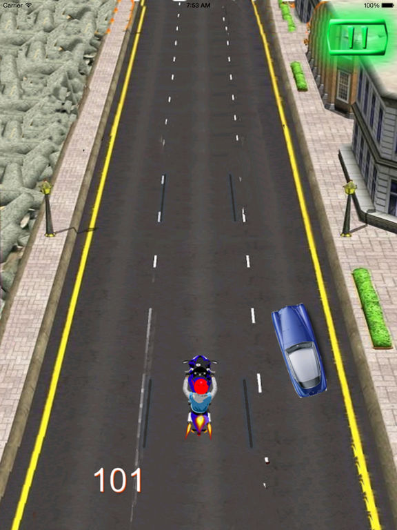 A City Guardian Motorcycle PRO - Chase Scanner Game screenshot 7