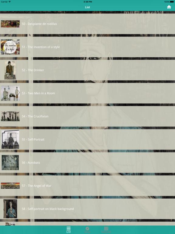 MAM Paris - Bernard Buffet Exhibition screenshot 9