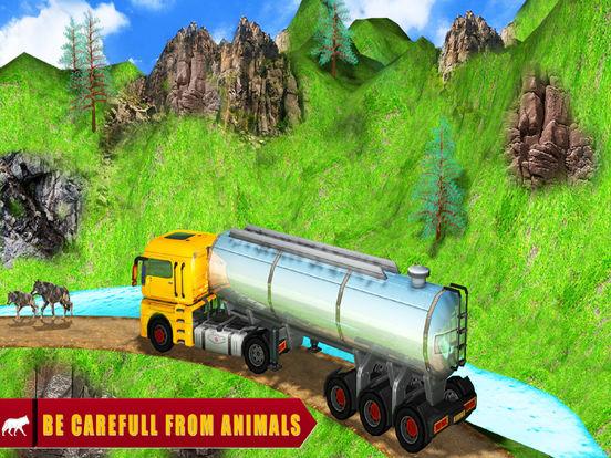 Mountain Cargo Adventure : Oil Delievery Transport screenshot 4