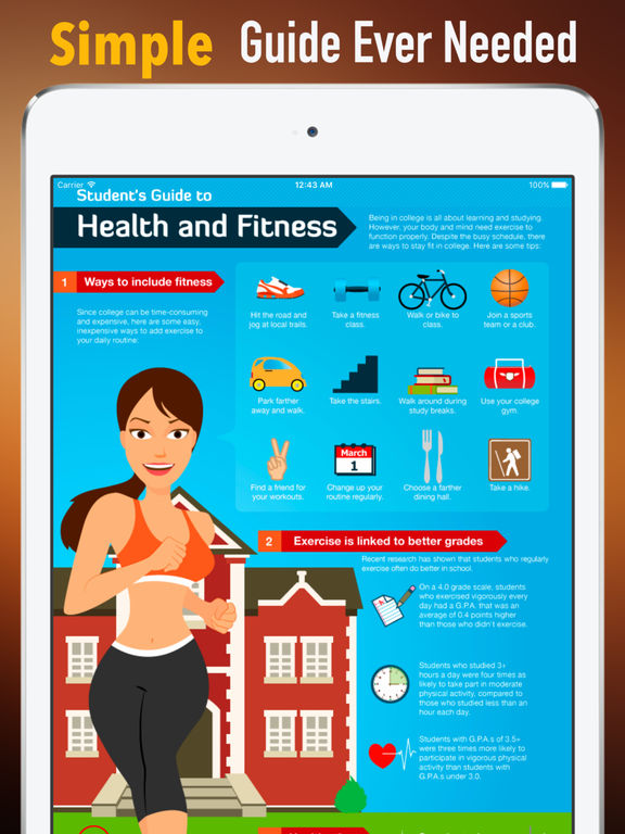 Healthy for College Students:Campus Guide screenshot 7