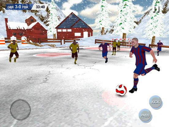 Play Soccer holidays 2017 - Xmas mobile Football screenshot 6