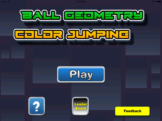 Ball Geometry Color Jumping - True Geometric War Is About To Begin screenshot 6
