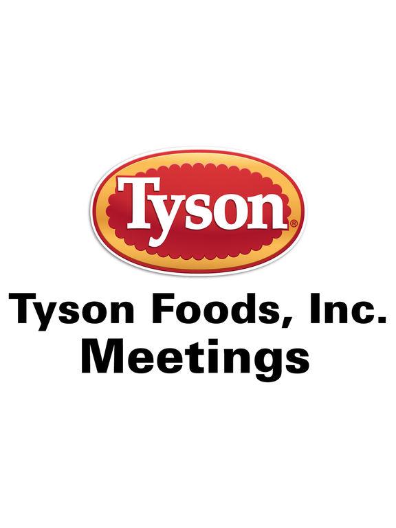 Tyson Foods Meetings App screenshot 4