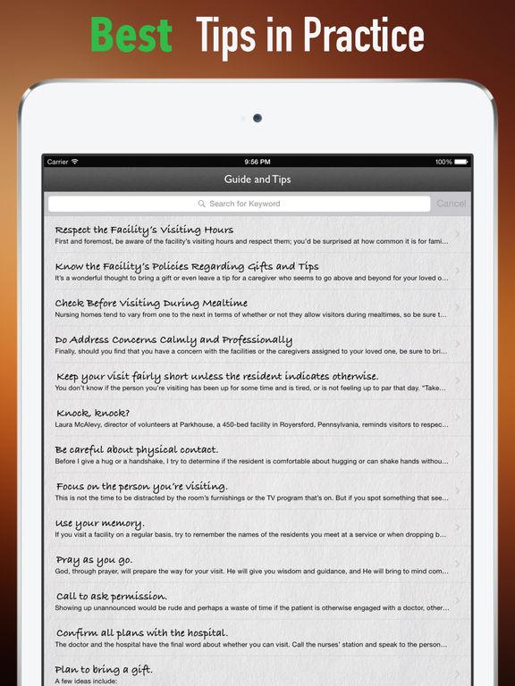 Nursing Home Etiquette:Nurse's Professional Etiquette screenshot 9