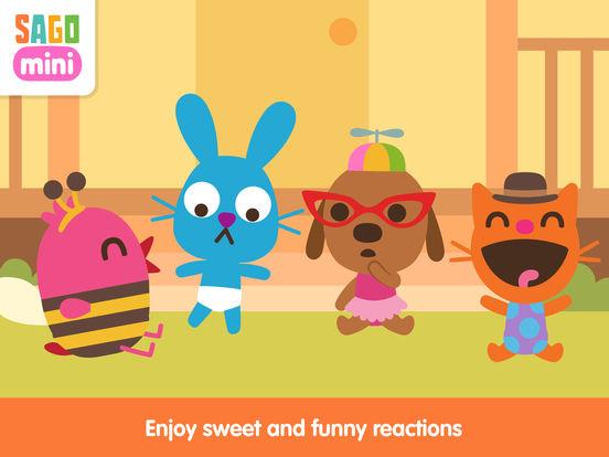 Sago Mini Babies Dress Up screenshot 8