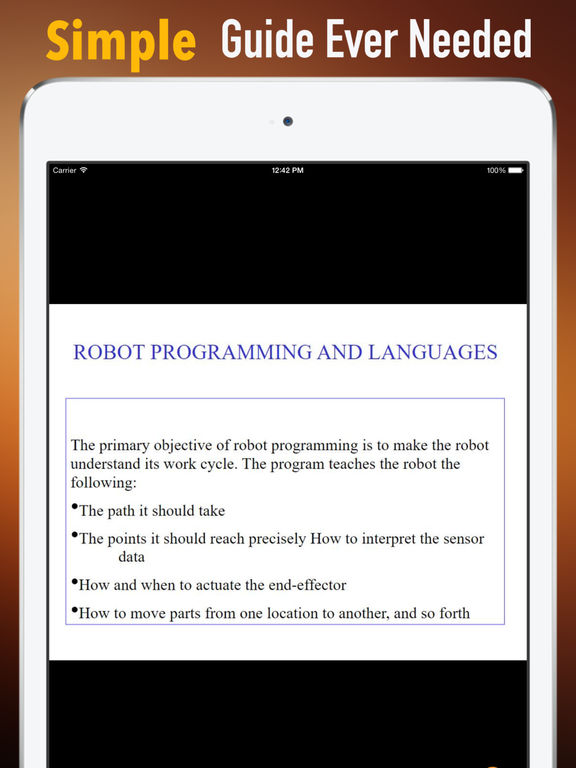 Programming Robots:Discovery Guide and News screenshot 7