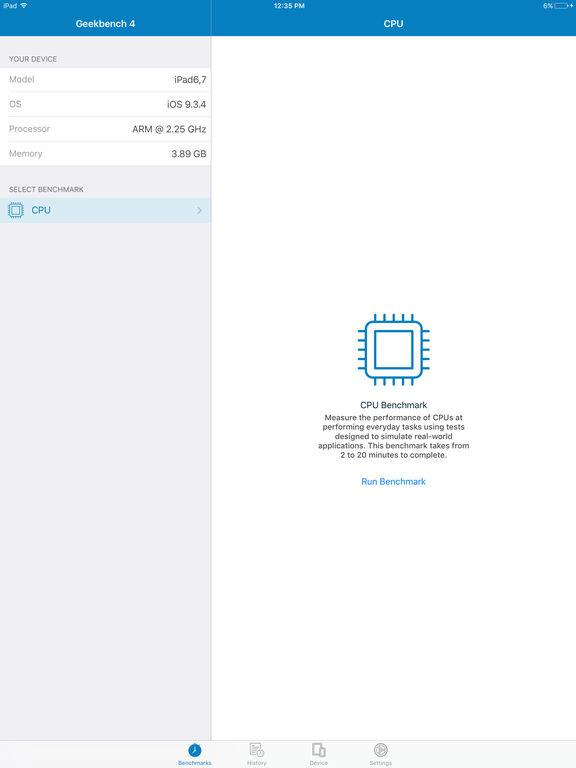 Geekbench 4 screenshot 4