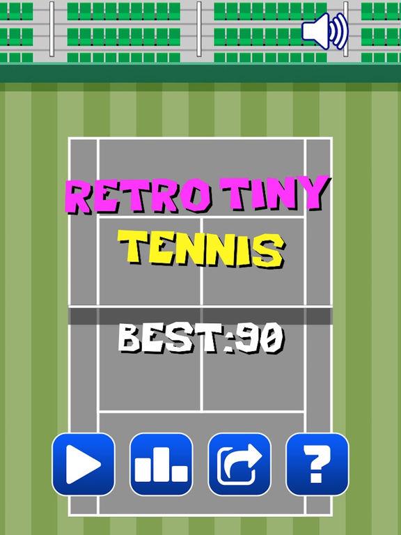 Retro Tiny Tennis screenshot 10