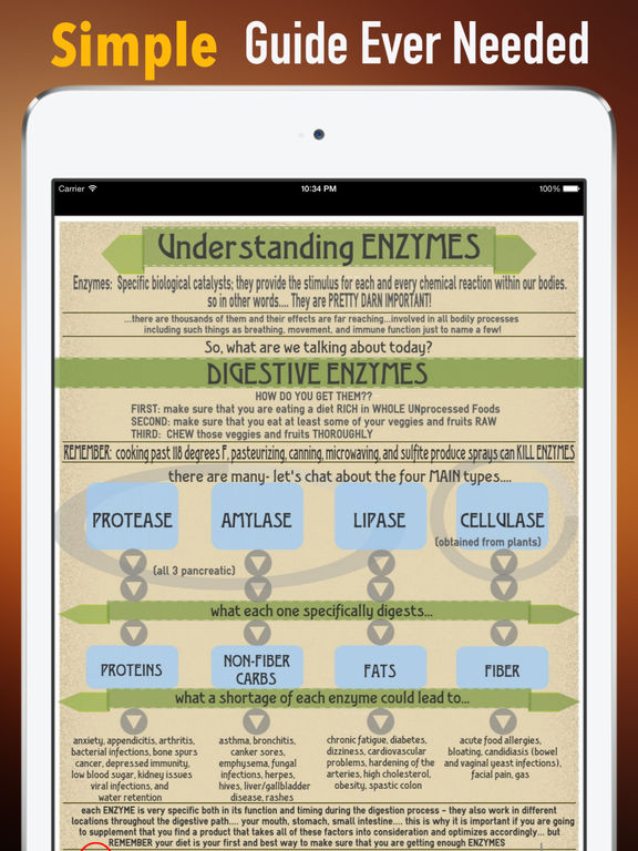 Enzymes 101:Healthy Healing screenshot 7