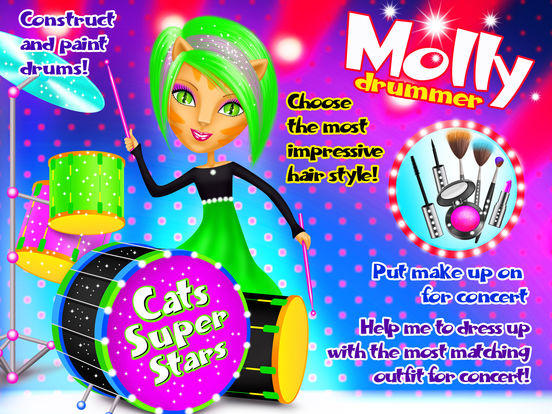 Crazy Cats Super Stars - No Ads screenshot 7