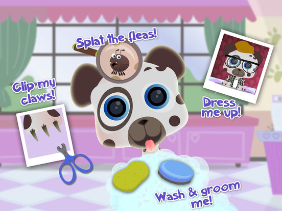 Pet Shop Animal Care - Nails & Dress Up screenshot 6