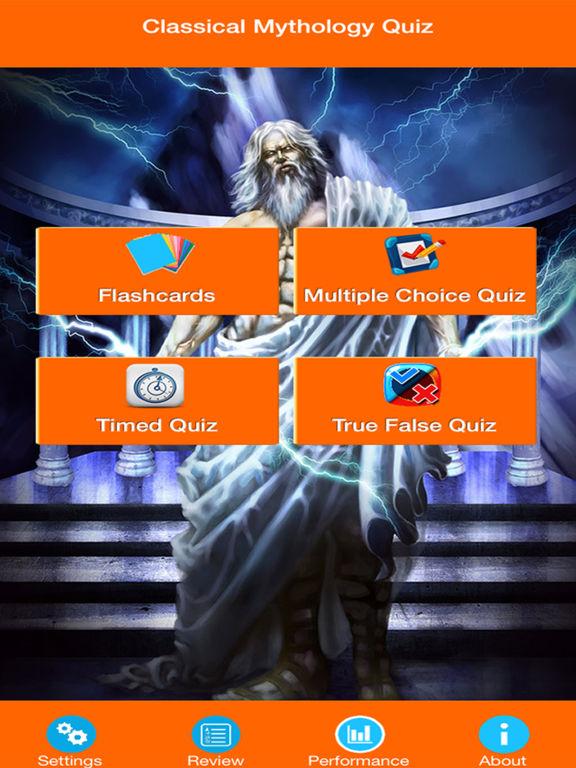 Classical Mythology Quiz screenshot 6