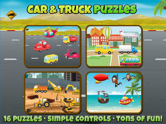 Car and Truck Puzzles For Kids screenshot 5