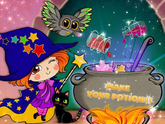 Luna's Magic School - Dress up, pet care & spells screenshot 6