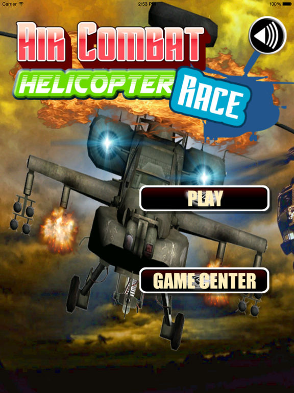 Air Combat Helicopter Race Pro - An Explosive Flight screenshot 6