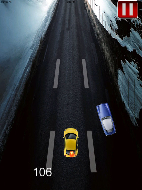 Car Highway Traffic Extended Pro - A Fiery Race screenshot 7