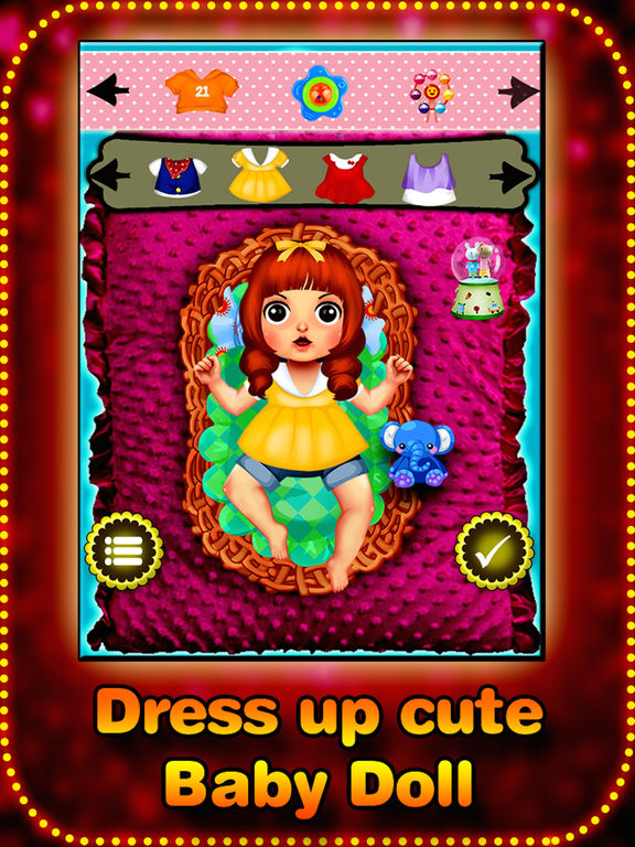 My cute baby dress up game - new dress up style for girls and boys screenshot 8
