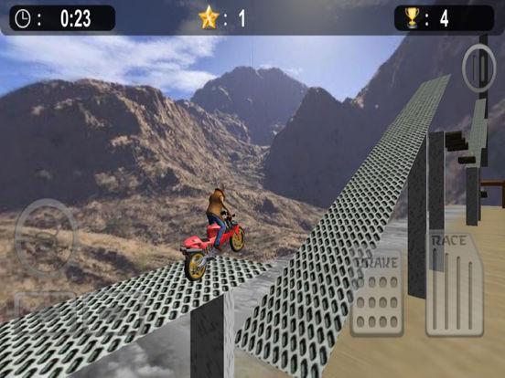 Extreme Bike Stunt : 3D Crazy Ride-r Free screenshot 6