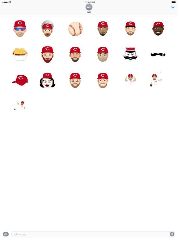 Cincinnati Reds 2016 MLB Sticker Pack screenshot 4