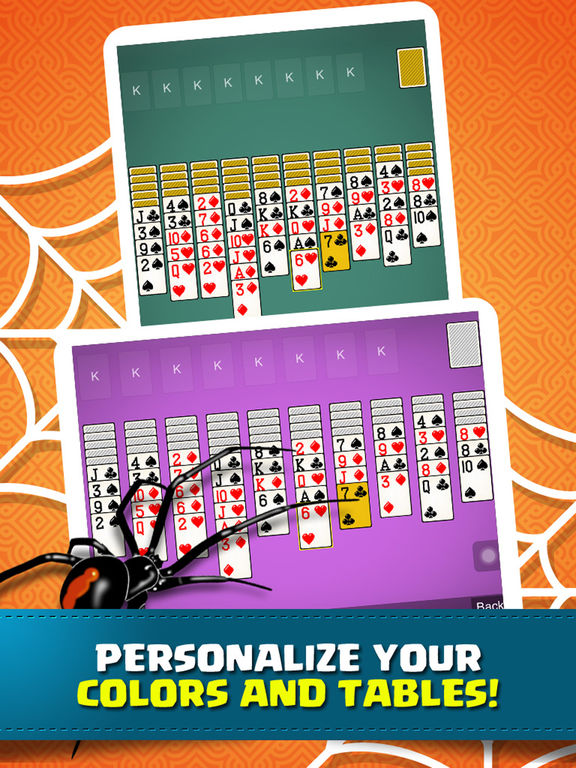 Solitaire Spider Classic Pro - Fun Cards Game screenshot 8