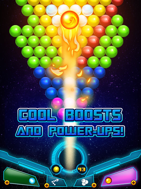 Bubble Shooter Sky Escape screenshot 8