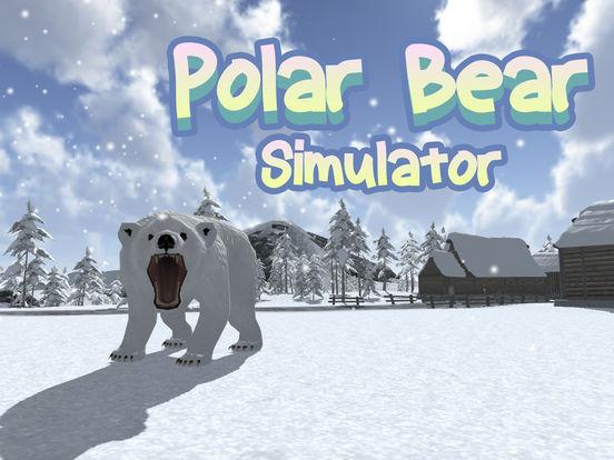 Wild White Polar Bear Simulator Full screenshot 5
