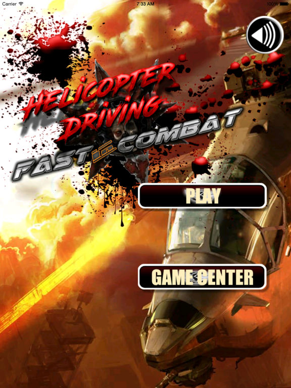A Helicopter Driving Fast In Combat - A Helicopter Hypnotic X-treme Game screenshot 6