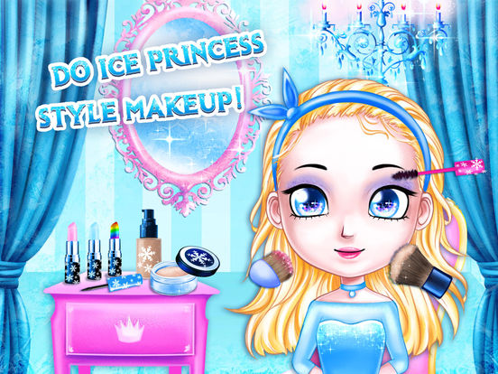 Ice Palace Princess Salon - No Ads screenshot 9