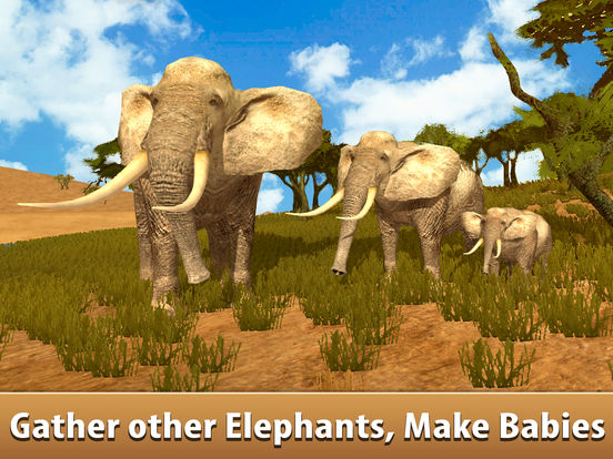 Big Elephant Simulator: Wild African Animal 3D screenshot 6