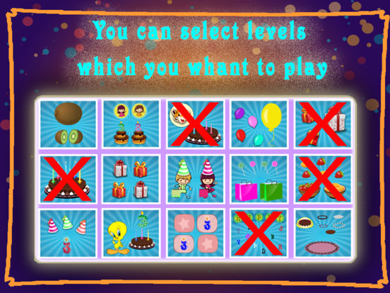 Birthday Party For Kids! Educational Fun Games for Toddler and Preschool Kids screenshot 7